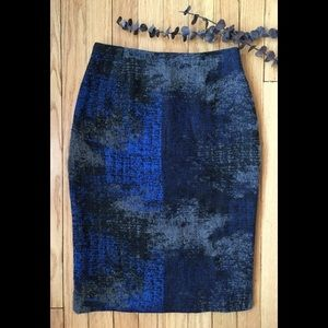 Ports 1961 Made in Milan, Italy wool/acrylic skirt